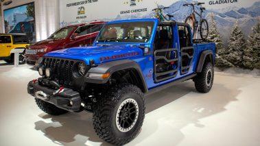 Mopar-Modified 2020 Jeep® Gladiator Rubicon. (MoparInsiders).