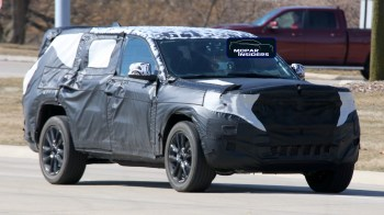 Jeep® Grand Cherokee Three-Row (WL75) Prototype. (MoparInsiders).