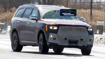 2021 Dodge Durango Citadel Prototype. (MoparInsiders).