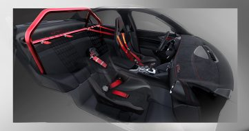 2020 Alfa Romeo Giulia GTAm Sketch. (Alfa Romeo).