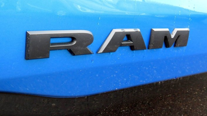 2020 Ram 1500 Rebel Crew Cab 4x4 in Hydro Blue. (Tri County Chrysler Dodge Jeep RAM).