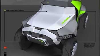 Futuristic Ram Truck Design. (Rezo Lomaia).