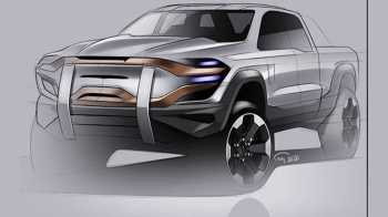 Futuristic Ram Truck Design. (Morten Rabiee).