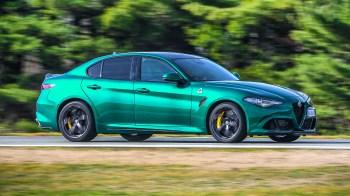 2020 Alfa Romeo Giulia Quadrifoglio. (Alfa Romeo).
