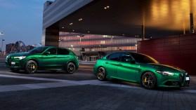 2020 Alfa Romeo Stelvio and Giulia Quadrifoglio. (Alfa Romeo).