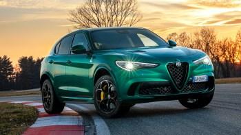 2020 Alfa Romeo Stelvio Quadrifoglio. (Alfa Romeo).