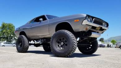 Photo of This Car Crushing 1972 Dodge Challenger 4×4 Is For Sale: