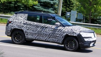 Photo of CAUGHT: 2022 Jeep® Compass Prototype Caught On Michigan Roads: