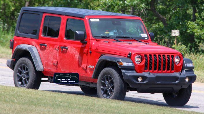 CAUGHT: The Entire 2021 Jeep® Wrangler 4xe Lineup On The Road: - Mopar  InsidersMopar Insiders