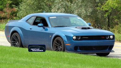 Photo of SPOTTED: 2021 Dodge Challenger R/T Scat Pack Widebody Shaker: