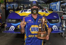Photo of Capps Takes His NAPA Dodge Charger To Victory At 51st Annual NHRA Gatornationals: