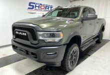 Photo of Olive Green Power Wagons Hit Dealer Showrooms:
