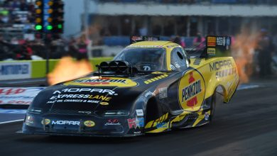 Photo of Hagan Takes No.1 Qualifying Spot At AAA Texas NHRA FallNationals: