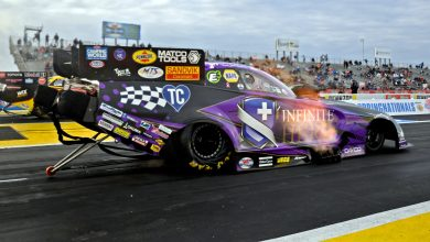 Photo of Beckman Grabs No. 1 Qualifying Spot For Mopar Express Lane SpringNationals: