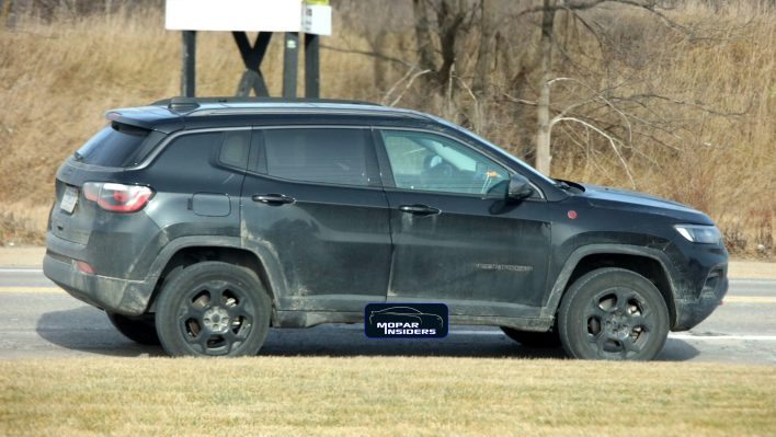 China-Spec 2022 Jeep® Compass Trailhawk. (MoparInsiders).