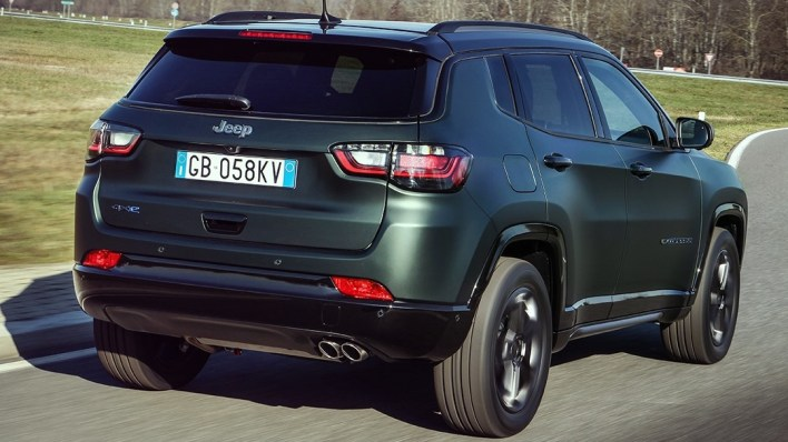 Euro-Spec 2021 Jeep® Compass 80th Anniversary Edition 4xe. (Jeep).