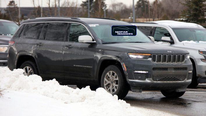 2021 Jeep® Grand Cherokee L Limited 4x4. (MoparInsiders).