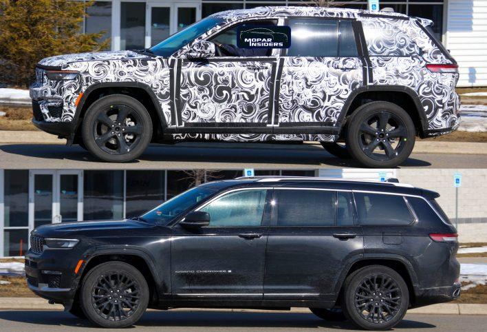 2022 Jeep® Grand Cherokee (WL74) VS Grand Cherokee L (WL75). (MoparInsiders).