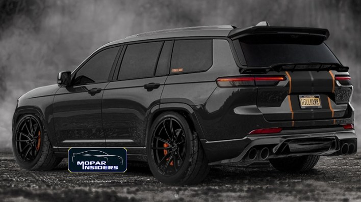 Jeep® Grand Cherokee (WL) Trackhawk Design. (ildar_project).