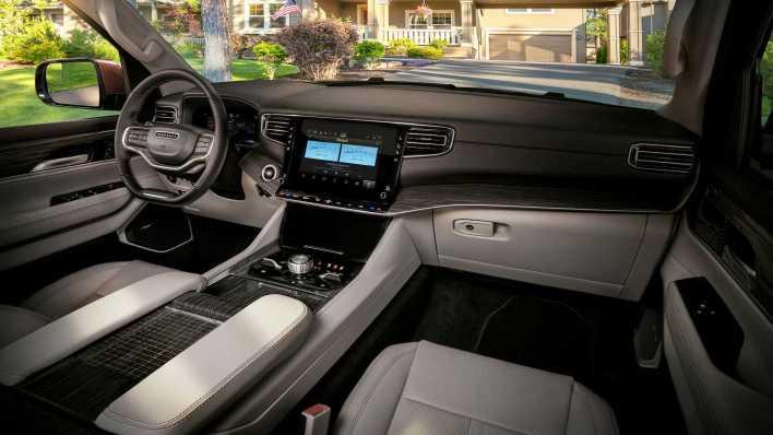 2022 Jeep® Wagoneer. (Jeep).