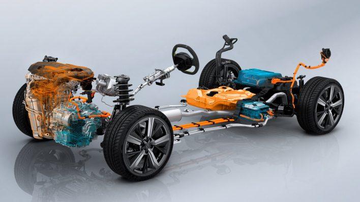 2021 Peugeot 308 Hatchback Hybrid Efficient Modular Platform 2 (EMP2) platform. (Peugeot).
