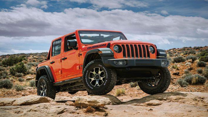 2021 Jeep® Wrangler Unlimited Rubicon. (Jeep India).