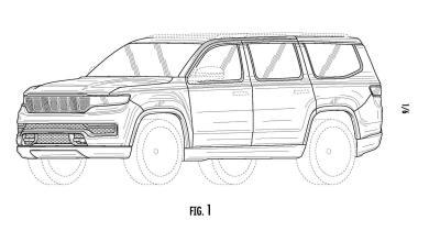 Jeep® Grand Wagoneer Patient Sketch. (IP Australia).