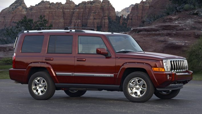 2008 Jeep® Commander Overland 4x4. (Jeep).