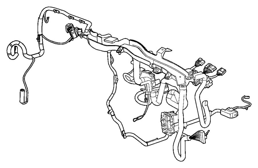2013 Jeep Patriot Wiring. Instrument Panel. Openertire