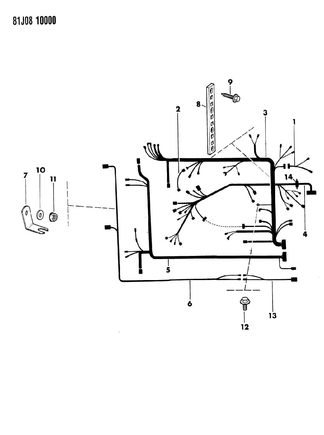 Jeep Grand Cherokee Engine Wiring Harnes