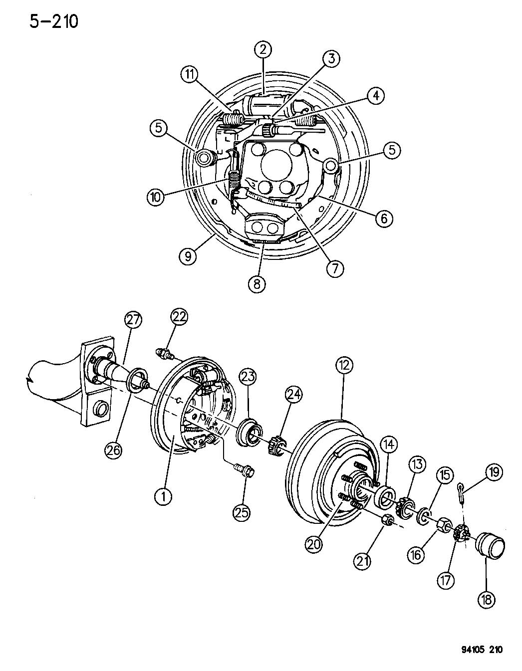 Plymouth Sundance Front Wheel Bearing How To Remove