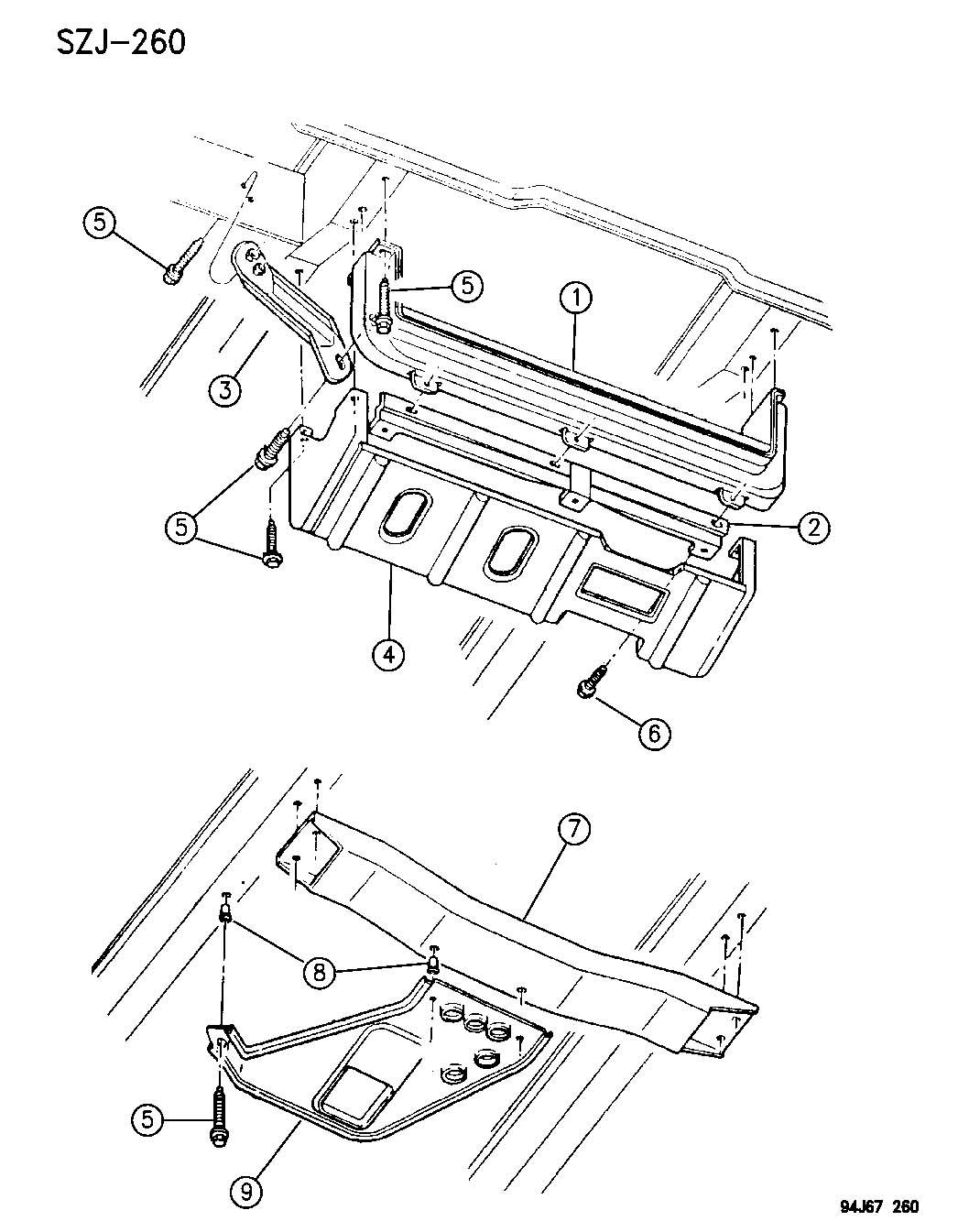 Jeep Grand Cherokee Front End Skid Plates Grand Cherokee Zj