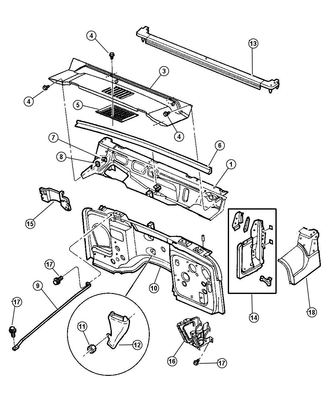 Jeep Wrangler Speaker Size