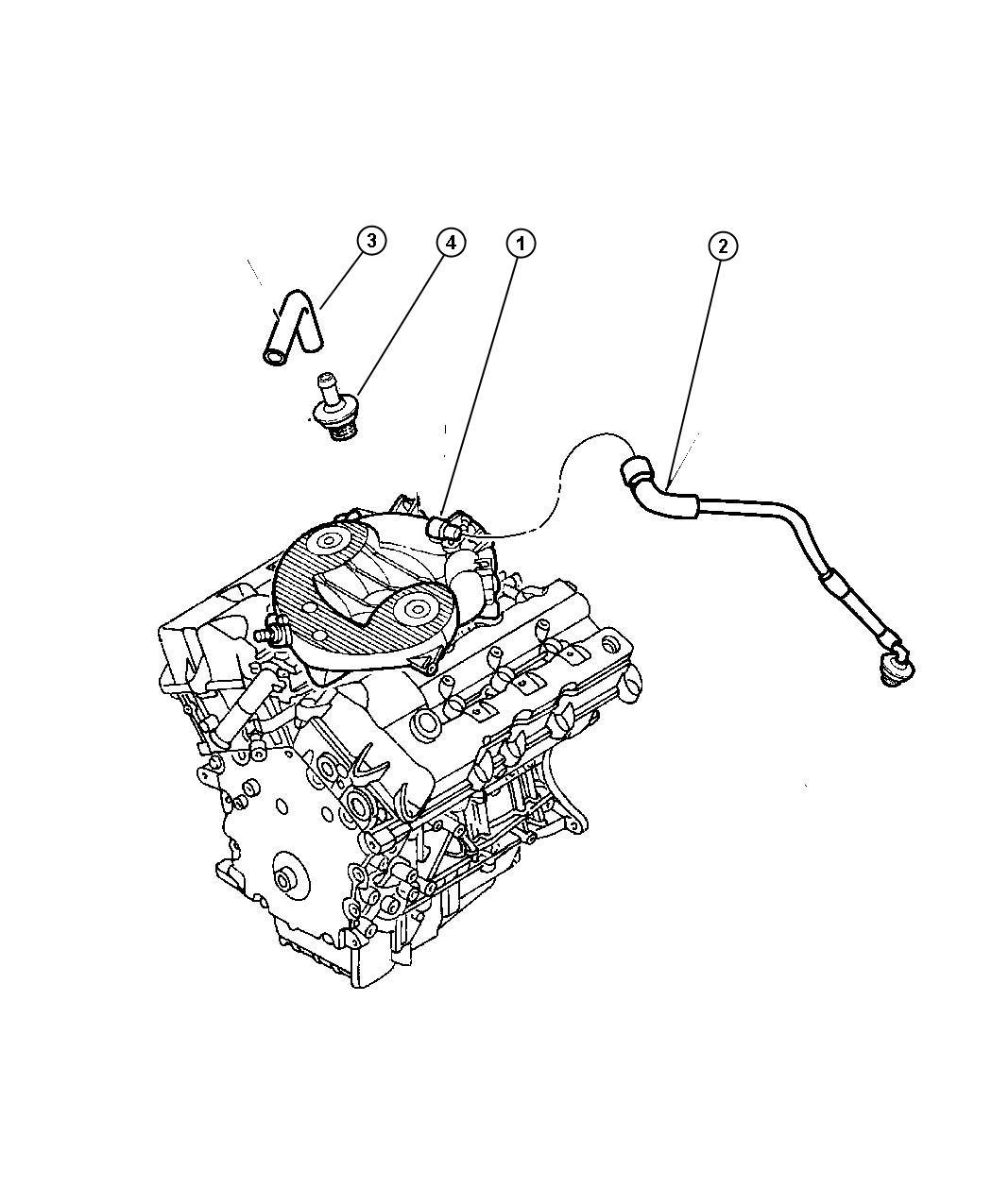 Dodge Intrepid Crankcase Ventilation 2 7l Engine