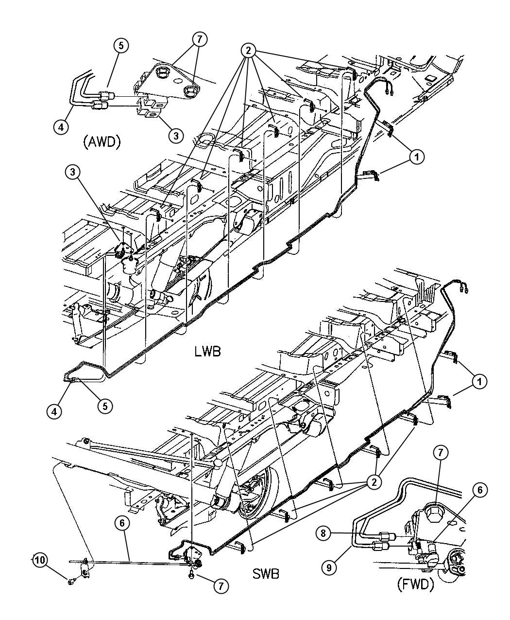 Lines And Hoses Chassis