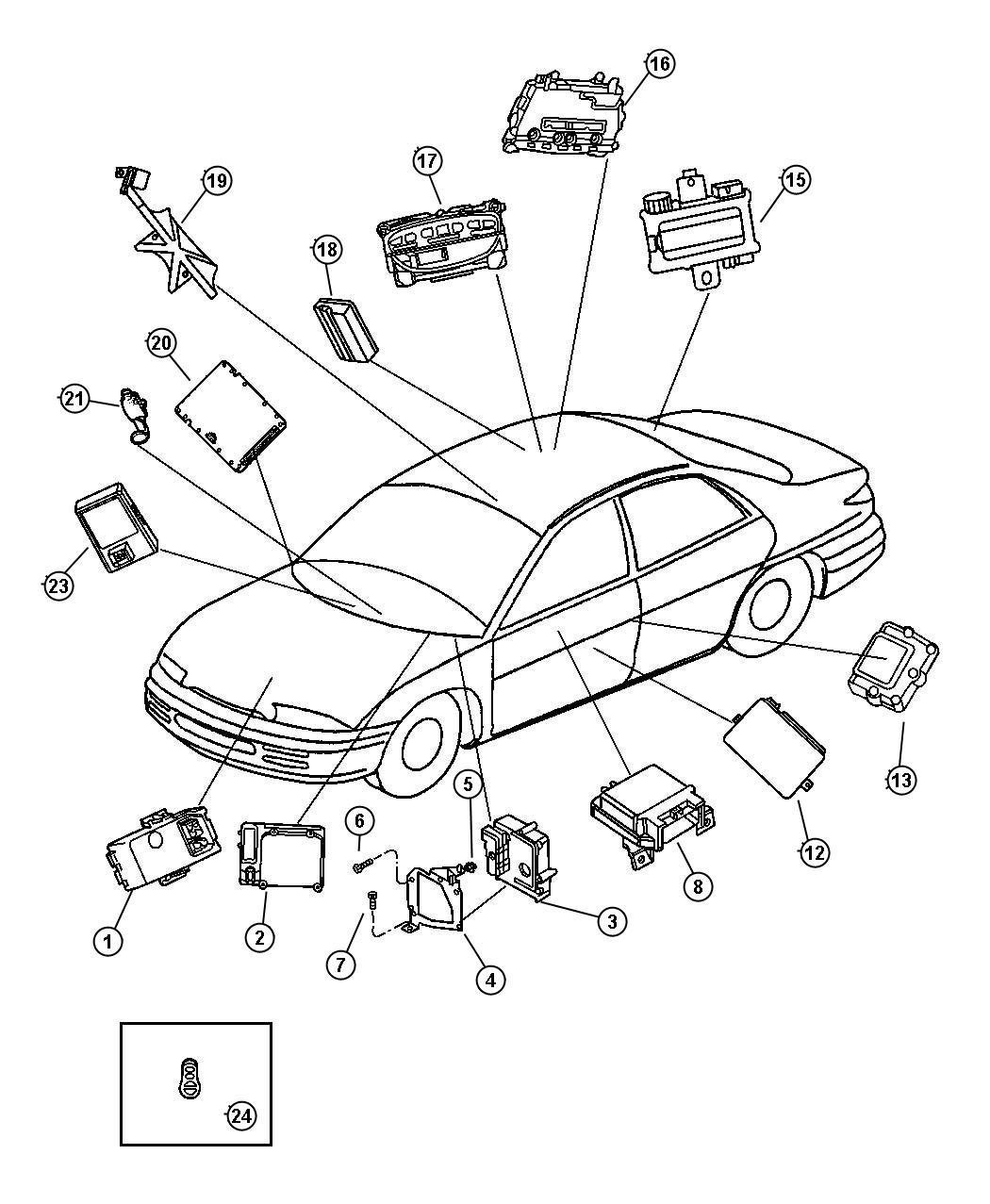 Dodge Intrepid Modules