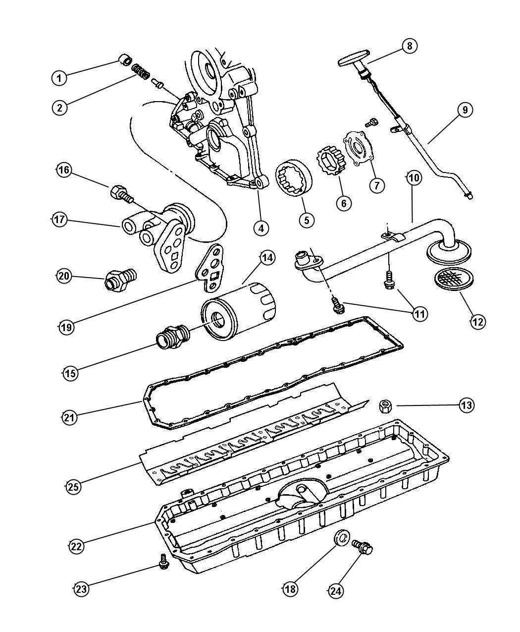 Dodge Viper Engine Oiling 8 0l Engine