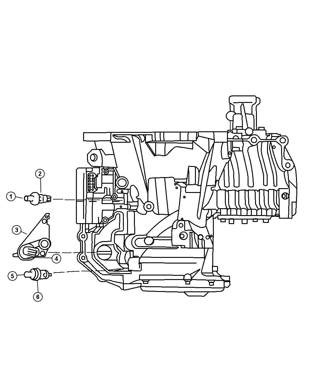 Dodge Grand Caravan Sensors Transmission