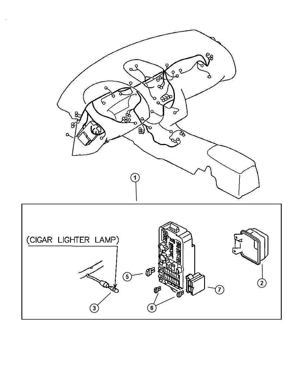 Chrysler Sebring Wiring