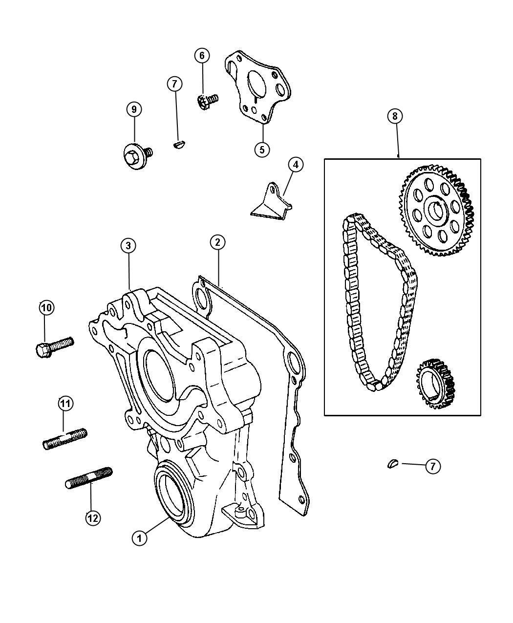 Dodge Dakota Timing Belt And Cover