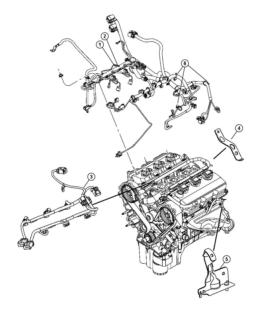 Chrysler Pacifica Wiring Engine
