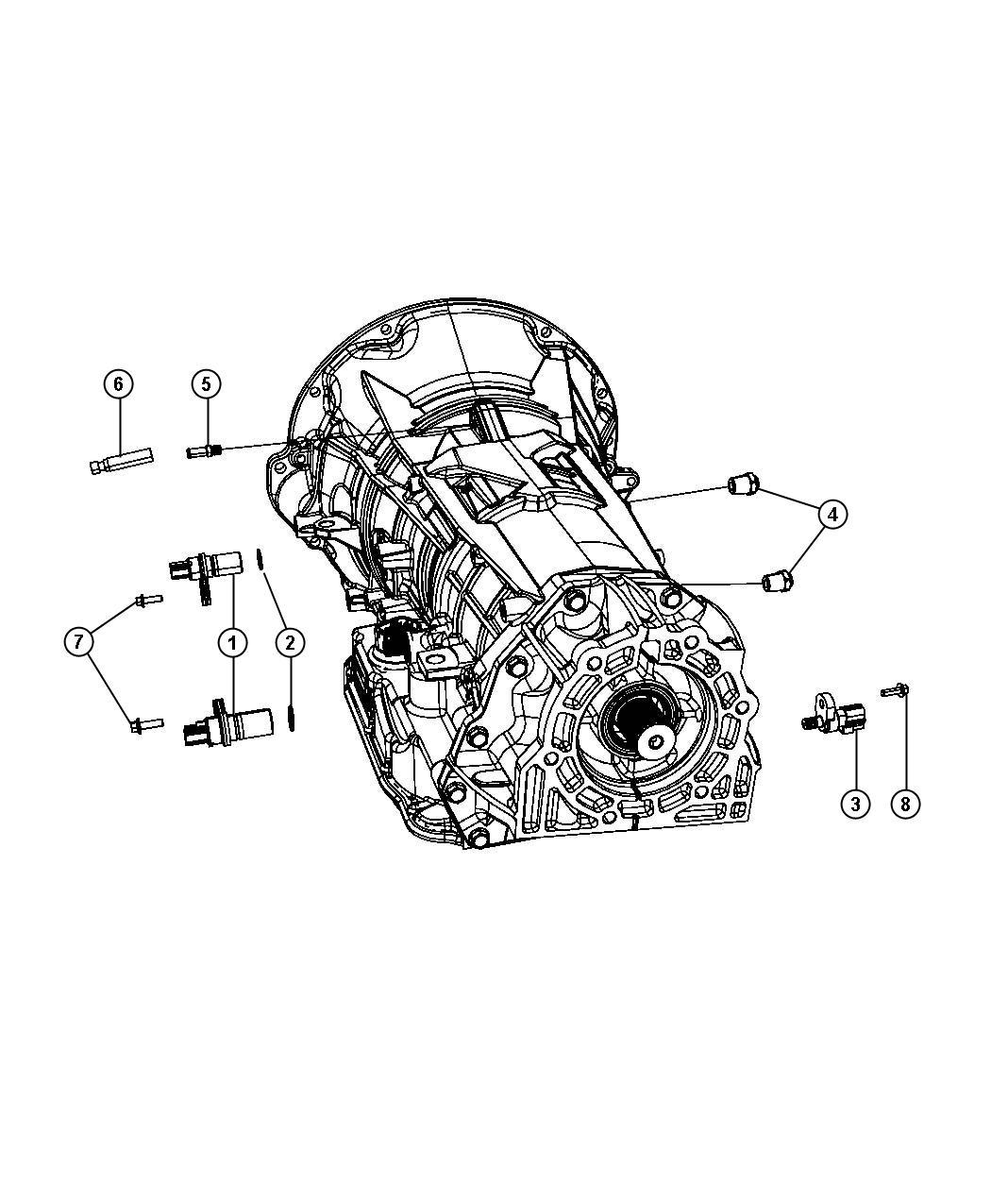 Jeep Commander Sensors Vents And Quick Connectors