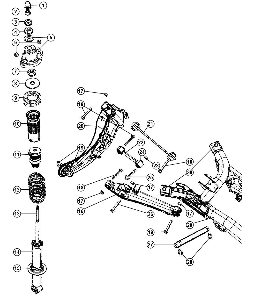 Chrysler 300c Front Suspension Diagram