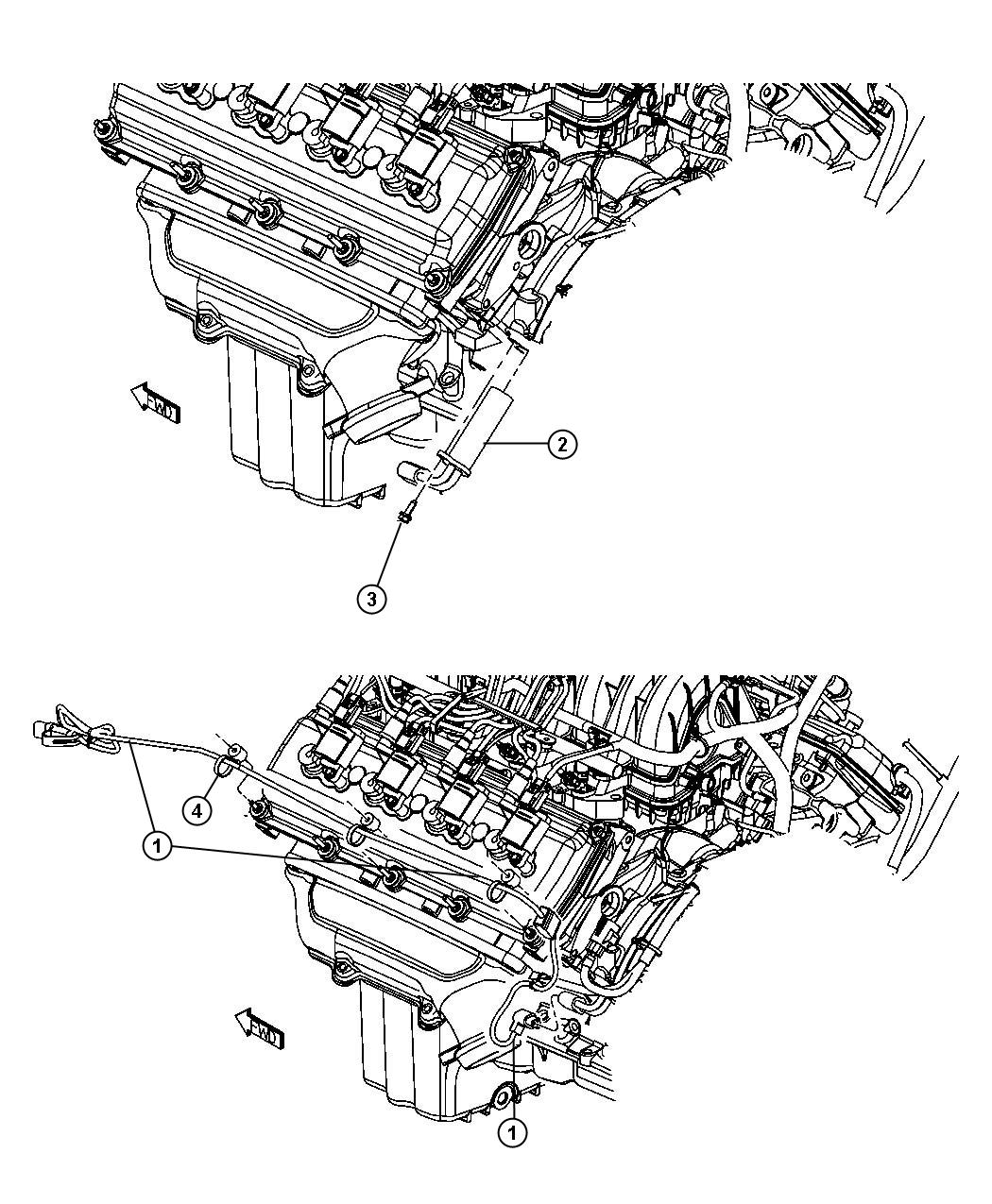 Dodge Magnum Engine Cylinder Block Heater 5 7l Ezb