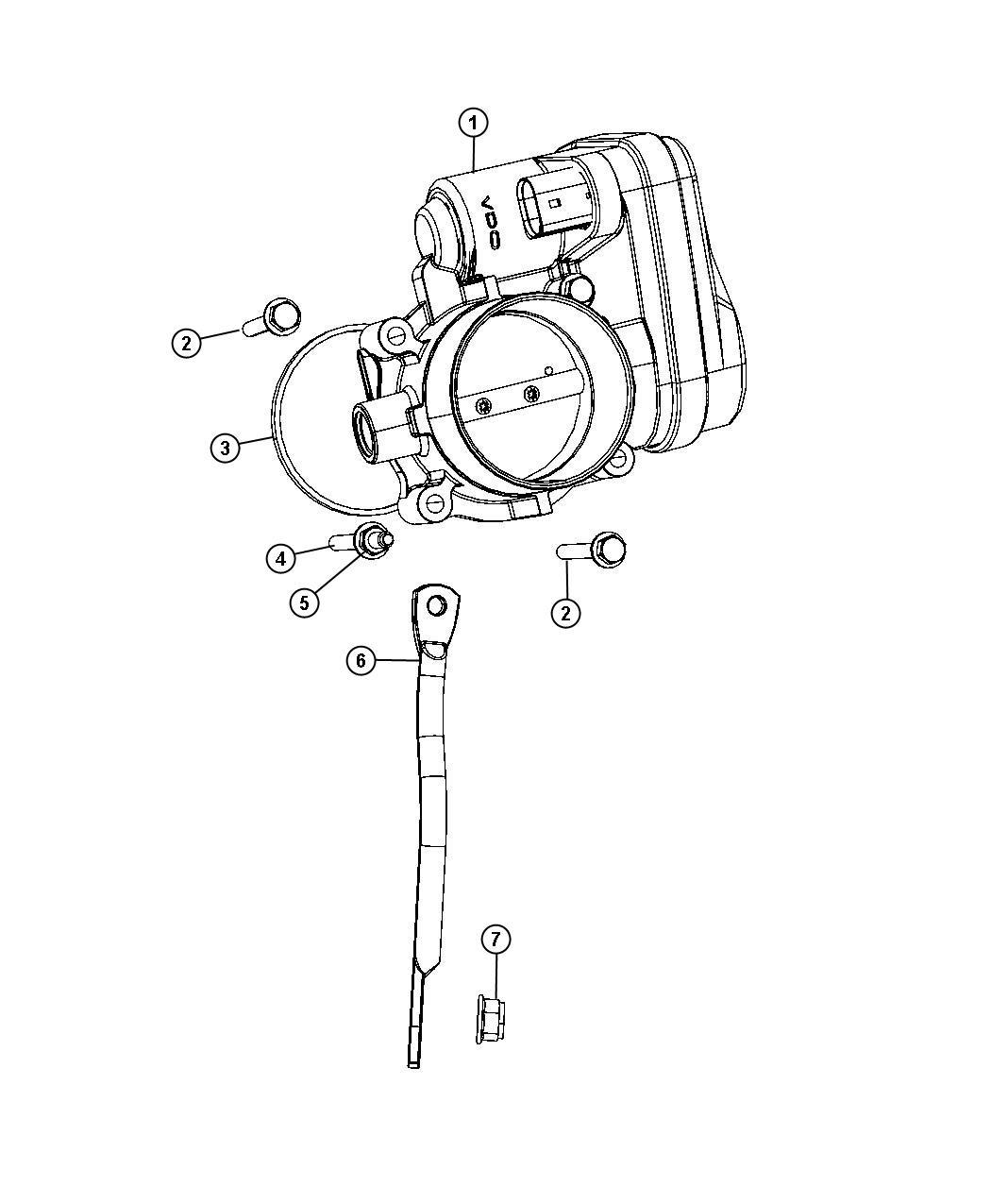 Chrysler Sebring Throttle Body