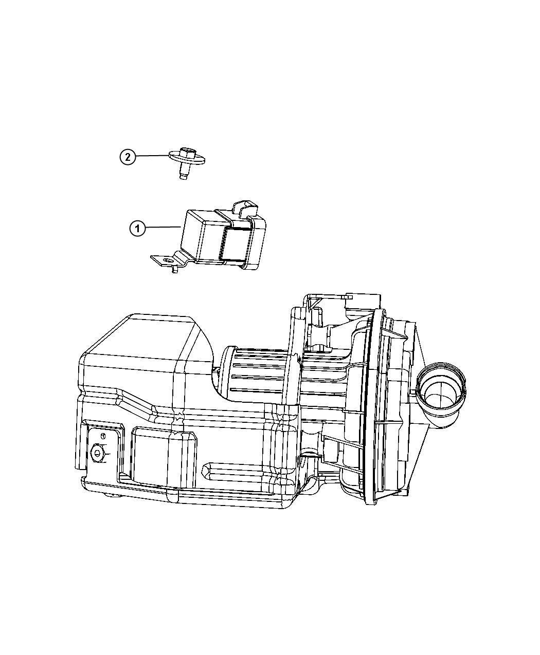 Dodge Avenger Air Pump Relay