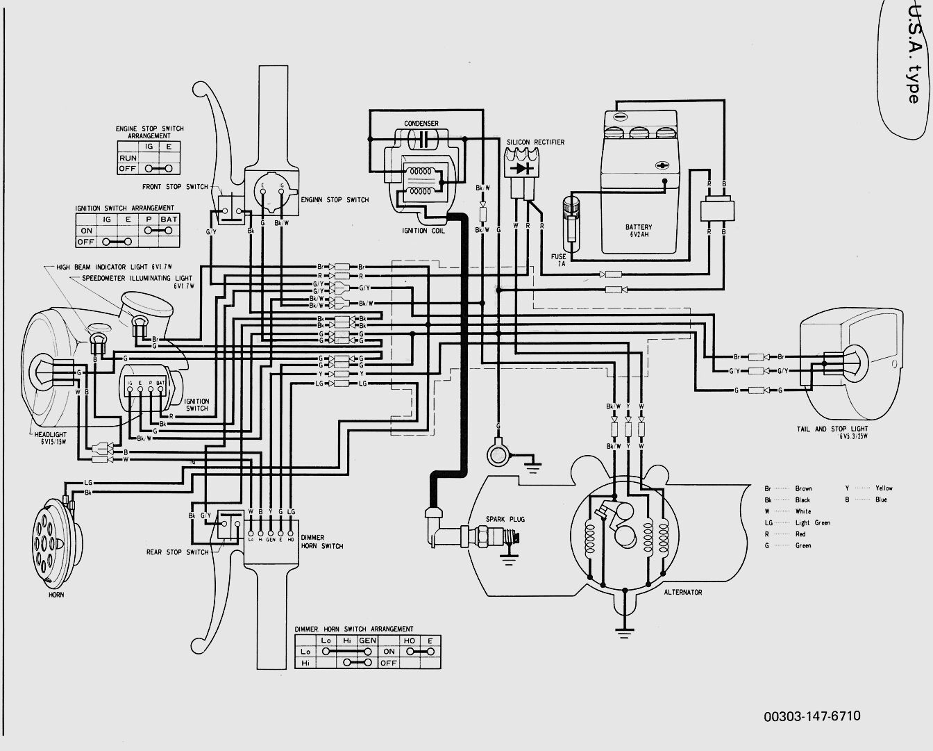 Yamaha Moped Wiring Diagram