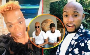 Trouble in paradise for Somizi and Mohale