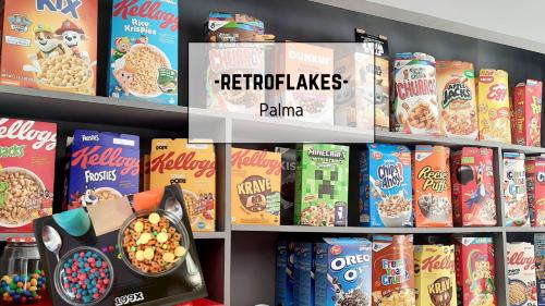 Desayuno Retro en Retroflakes.
