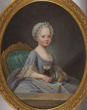 Joseph Ducreux, Madame Élisabeth (1768)